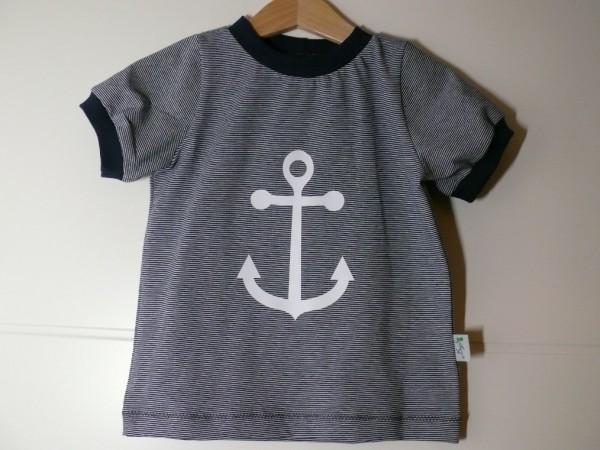 T-Shirt mit Ankerplott