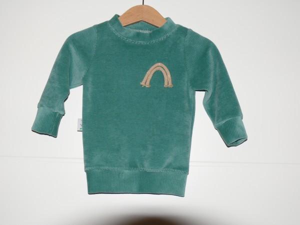 Pullover Mint Rainbow Gr. 62