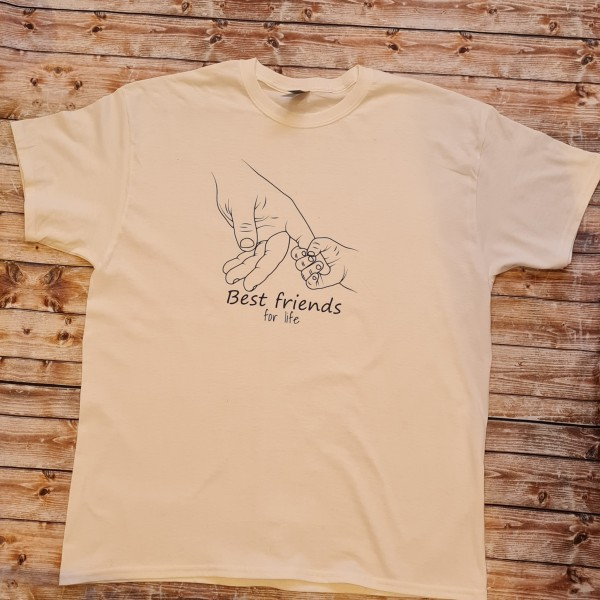 "Herren T-Shirt ""Best Friends for life"""
