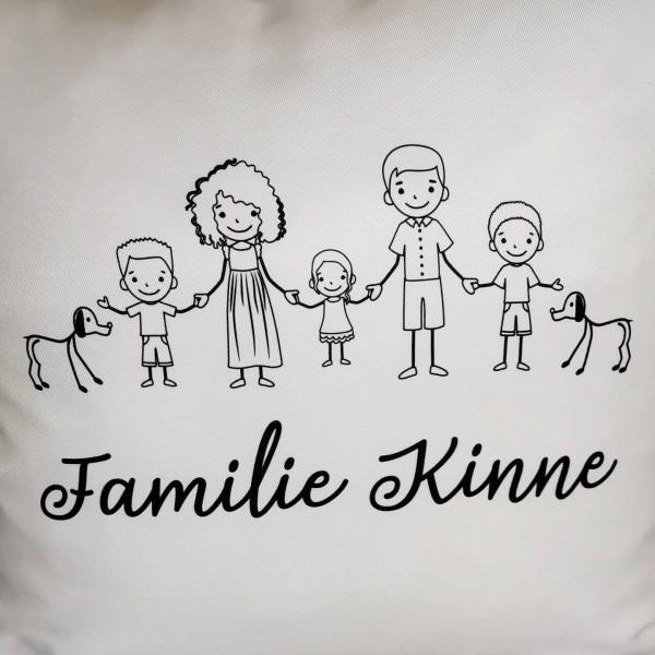 Familienkissen